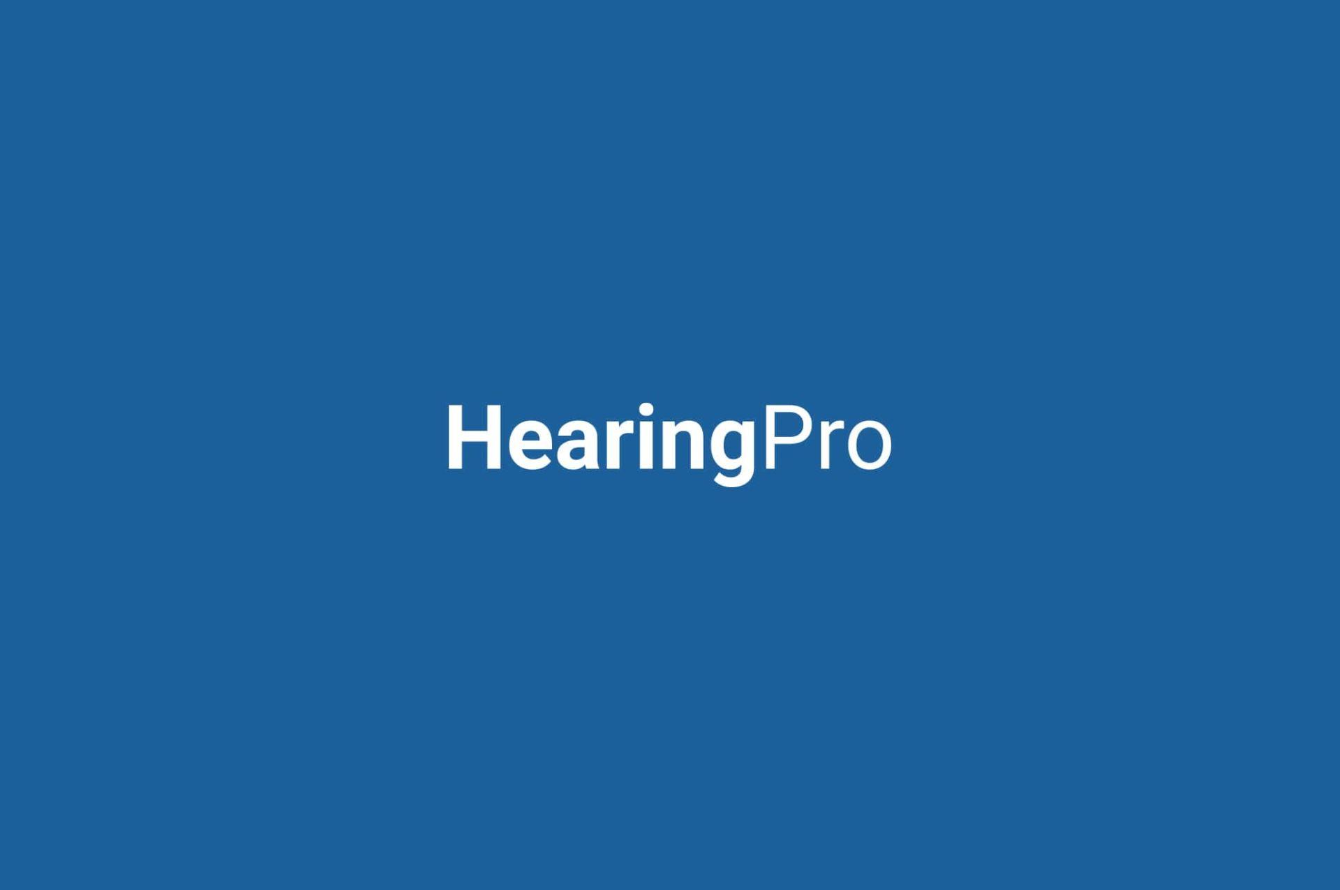 HearingPro_Logo_White